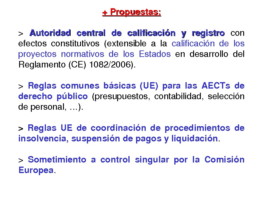 Calidade regulatoria e transparencia administrativa na execución do Dereito da UE: incidencia na cooperación territorial europea e na xestión dos Fondos da UE